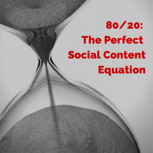 80-20- The Perfect Social Content