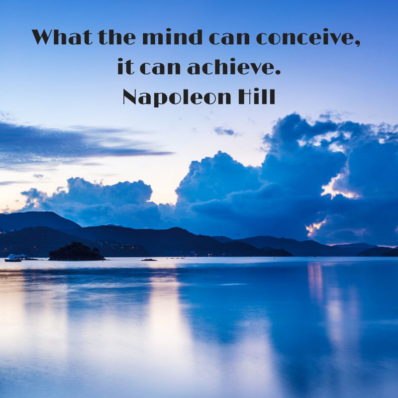 What the mind can conceive, it can
