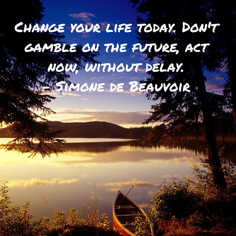 Change your life today. Don't gamble on