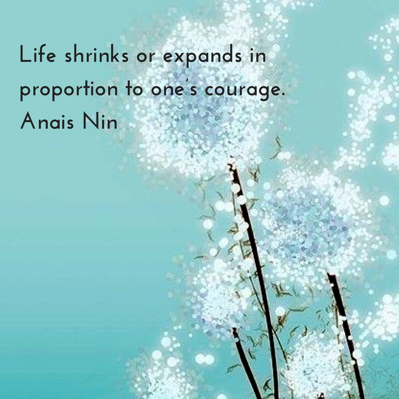 Life shrinks or expands in proportion to