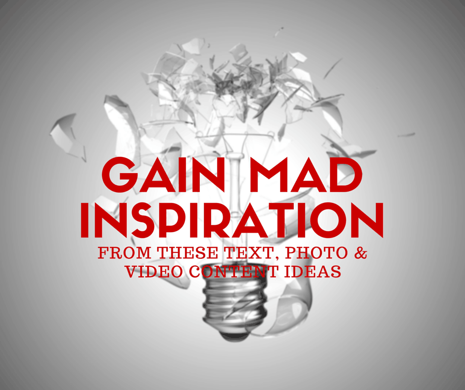Gain MAD Inspiration From These Content Ideas