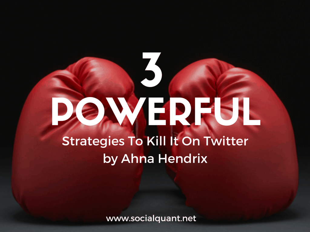 3 Steps To Building a Winning Twitter Marketing Strategy